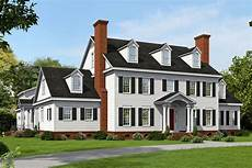 Floor Plans Of House Colonial Plan 6 858 Square 6 Bedrooms 4 5