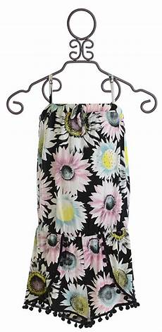 Flowers By Zoe Size Chart Flowers By Zoe Romper With Flower Print For Tweens