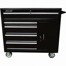 excel 5 drawer rolling tool cabinet 1 000 lb capacity