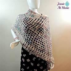crochet poncho phoebe poncho crochet pattern favecrafts