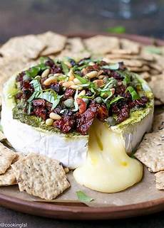 savory baked brie appetizer with sun dried tomatoes recipe