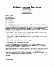 Other Words For Internship Free 7 Sample Internship Cover Letter Templates In Pdf
