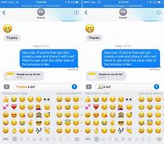 Emoji Texts How To Replace Text With Emojis In Messages In Ios 10