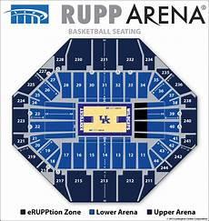 Sun Dome Basketball Seating Chart Seating Diagrams Rupp Arena