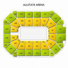 Wwe Rosemont Seating Chart Allstate Arena Seating Wwe Brokeasshome Com