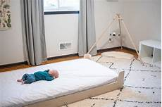 transitioning to a montessori floor bed montessori baby
