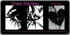 Anonymous Author Author Anonymous By E K Blair Review Totallybookedblog
