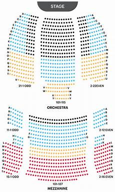 Winstar Theater Seating Chart Neil Simon Theatre Seating Chart Find Best Seats For The