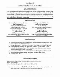 Facilities Manager Resume Facilities Manager Resume 3 2015 1