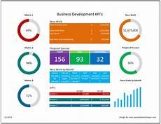 Kpi Dashboard Business Development Kpi Dashboard Spreadsheetshoppe