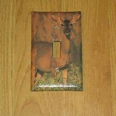 Deer Light Switch Covers Female Doe Whitetail Deer Wild Game Light Switch Cover