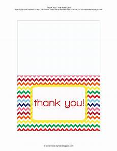 thank you card template to print free thank you card free printable