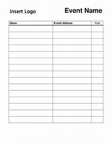 Club Sign Up Sheet Template Word Can Use For With Sign Up Sheet Template Word Sample Signup