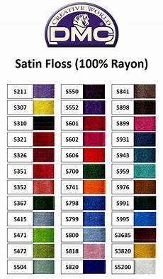 Dmc Rayon Floss Color Chart Buy Dmc Satin Floss 100 Rayon Online Dmc Threads