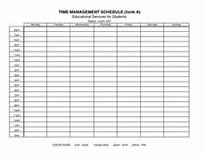 Time Management Schedule Template 15 Best Images Of Time Management Worksheet Weekly Time