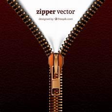 Zip Zipper Designs Realistic Zipper Free Vector