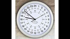 24 Hour Clock Time Great Gadgets 24 Hour Clock Youtube
