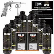 u pol raptor two 2 tint spray on truck bed liner kits