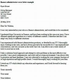 Sample Cover Letter For Finance Manager Position Finance Administrator Cover Letter Example Learnist Org