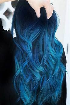 55 blue black hair color ideas to try in any