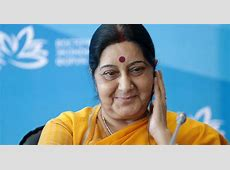Sushma Swaraj Comes To The Aid Of Russian Man Spotted