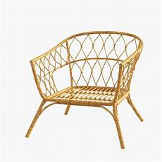 Sofa Mattress 3d Image by 3d Rattan Chair Ikea Stockholm 3d Model Rattanchair