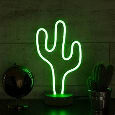 Led Cactus Lights Cactus Led Neon Light Green Glamping From Boutique