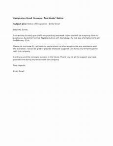 Two Weeks Notice Letter Retail 2020 Two Weeks Notice Fillable Printable Pdf Amp Forms