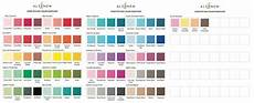 Ink Color Chart Color Swatches Altenew