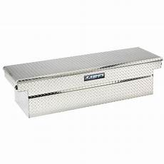 lund 70 in cross bed truck tool box 9100dbpb the home depot