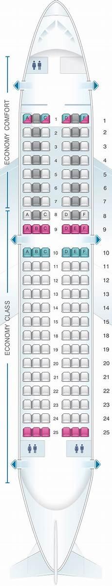 Alitalia Flight 631 Seating Chart Seat Map Alitalia Airlines Air One Airbus A319 Seatmaestro