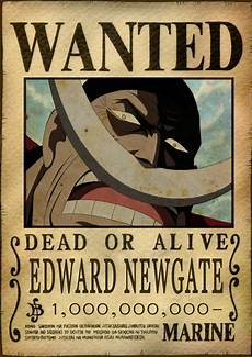One Piece Wanted Poster Sticker Autocollant Poster A4 Manga One Piece Wanted