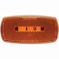 Black Clearance Lights Oval Led Clearance Marker Light Replaceable Lens Fleet