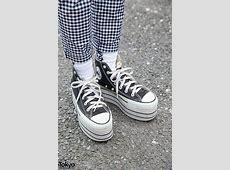 Candy Stripper Gingham Lace Up Pants & Suicidal Tendencies