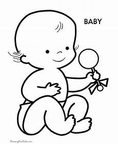Gratis Malvorlagen Baby Free Printable Coloring Pages Of Babies Coloring Home