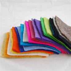 fabric crafts felt handmade 100 wool felt fabric 5mm thick 20 assorted 6