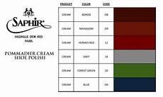 Saphir Polish Cream Color Chart 2 Shoes Pinterest