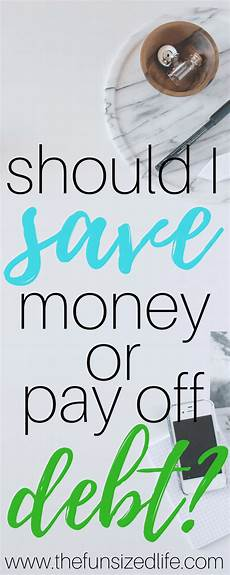 How Long To Pay Off Debt Calculator Should I Save Money Or Pay Off Debt Plus Debt Calculator