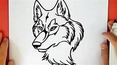 desenho de lobos como desenhar um lobo