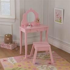 medium vanity stool pink kidkraft 13023 in 2020