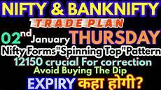 Nifty Option Premium Chart Bank Nifty Amp Nifty Tomorrow 02nd January 2020 Daily Chart