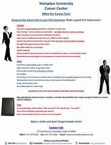 Questions For Career Fair Hampton University Career Center Career Fairs