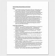 A Paper In Apa Format Research Paper Outline Apa Format 7 Examples And Samples