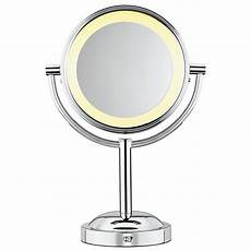 Conair Led Natural Light Vanity Mirror Conair Round Shaped Double Sided Battery Operated Lighted