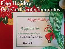 Gift Certificate Prints Free Holiday Gift Certificates Templates To Print Hubpages