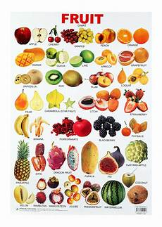 Vegetable Picture Chart Buy Dreamland Fruit Chart Online In India Kheliya Toys