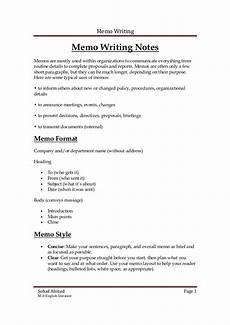 How To Write A Memo In Apa Format Writing A Memo Apa Format