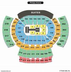 Philips Arena Seating Chart Seating Charts Amp Tickets