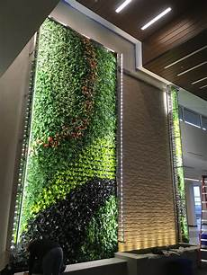 Plant Wall Lighting Embassy Suites Denton Natura Enhancing The Built