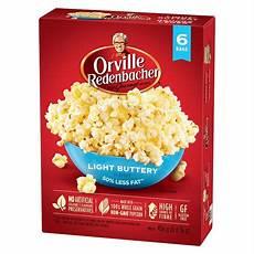 Light Popcorn Orville 174 Microwave Gourmet Popcorn Light Buttery
